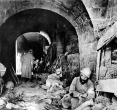 Blessés dans le Fort de Vaux, 1916