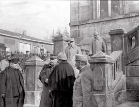 Poincaré et Joffre pendant la Bataille de Verdun