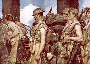 Flameng, Bataille de la Somme, 1916