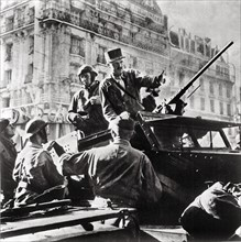 Liberation of Paris in August 1944