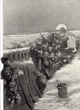 Noël au front, 1914