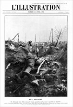 La bataille des Eparges, 1915