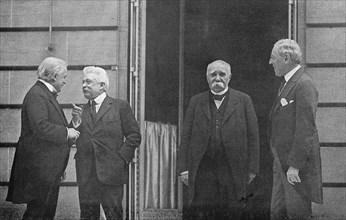 Conférence de Paix de Paris du 27 mai 1919