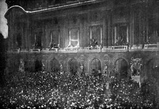 Célébrations pour la signature du Traité de Versailles, 28 juin 1919