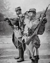 Première Guerre Mondiale. La bombarde et le biniou bretons sur le front