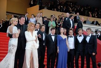 """Festival de Cannes : équipe du film """"Inglourious Basterds"""""""