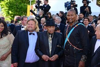 Joseph Jackson et Mandla Mandela, Festival de Cannes 2014