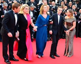 """Equipe du film """"La Tête haute"""", Festival de Cannes 2015"""
