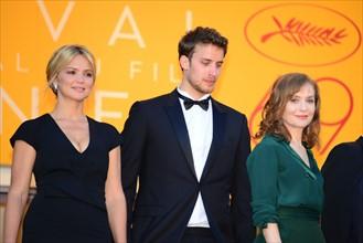 """Equipe du film """"Elle"""", Festival de Cannes 2016"""