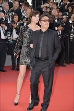Charlotte Gainsbourg et Yvan Attal, Festival de Cannes 2017