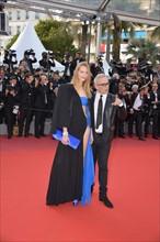 Vanessa Axente et Jean-Paul Gaultier, Festival de Cannes 2017