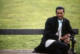 Chuck Berry dans son ranch, dans le sud des Etats-Unis
