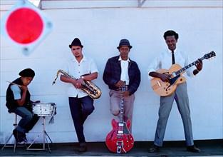 """Chuck Berry """"et son orchestre"""" à Memphis"""