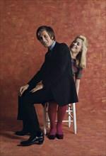 Jacques Dutronc et Catherine Deneuve à Paris
