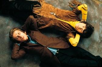 Jacques Dutronc et Michel Polnareff, 1968