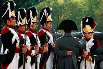 France Gall en hussard de la Garde, Paris
