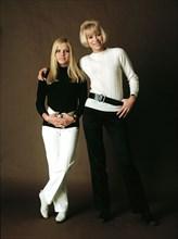 France Gall et Mireille Darc