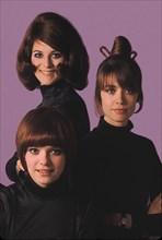 Françoise Hardy, Sheila et France Gall, 1969