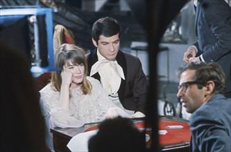 Françoise Hardy et Jean-Claude Brialy, 1963