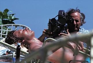 Johnny Hallyday filmé par François Reichenbach au Mexique