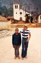 Johnny Hallyday au Mexique