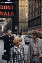 Johnny Hallyday et Sylvie Vartan, New York
