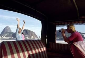 Johnny Hallyday et Sylvie Vartan, Rio de Janeiro