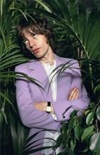 Mick Jagger au studio Carnot, Paris