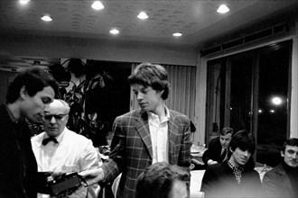 Mick Jagger et Jean-Marie Périer, 1966