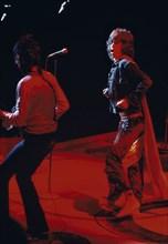 Mick Jagger sur scène, Etats-Unis