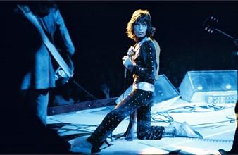 Mick Jagger, en concert à Pittsburg