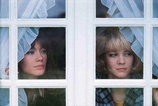 Sylvie Vartan et Françoise Hardy, 1966