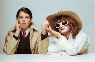 Dani et Michel Polnareff, 1971