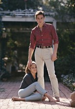 Alain et Nathalie Delon