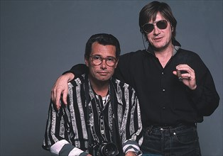 Jacques Dutronc et Jean-Marie Périer