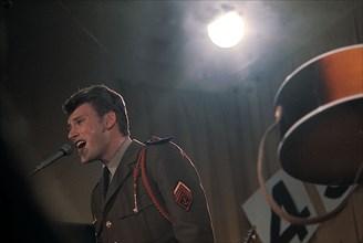 Johnny Hallyday en militaire