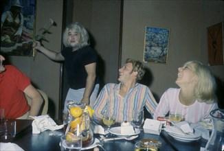 Johnny Hallyday, Sylvie Vartan et Carlos