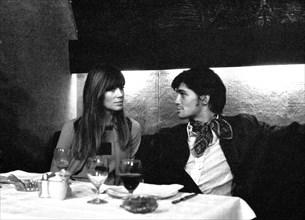 Françoise Hardy et Marc Porel