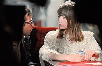 Françoise Hardy et Roger Vadim, 1963