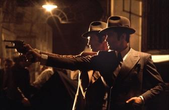 Jean-Paul Belmondo et Alain Delon dans le film Borsalino