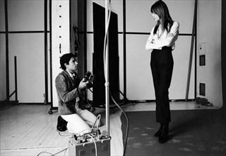Françoise Hardy et Jean-Marie Périer, 1969