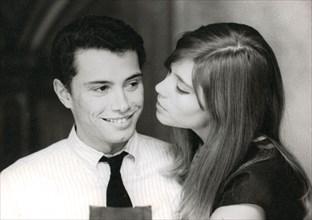 Françoise Hardy et Jean-Marie Périer, 1963