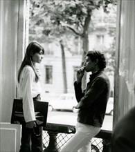 Françoise Hardy et Jean-Marie Périer, 1966