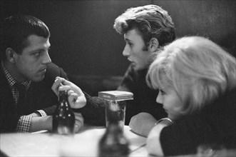 Johnny Hallyday, Sylvie et Eddie Vartan