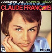 Pochette de disque de Claude François, 1967