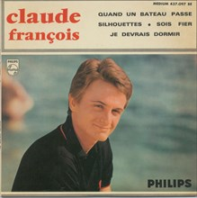 Pochette de disque de Claude François, 1965