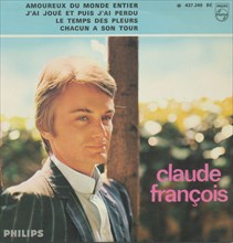 Pochette de disque de Claude François, 1966
