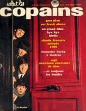 """Les Beatles en couverture de """"Salut les Copains"""""""