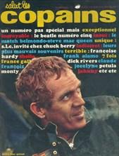 """Steve McQueen en couverture de """"Salut les Copains"""""""