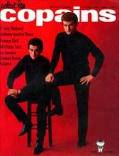 """Eddy Mitchell et Dick Rivers en couverture de """"Salut les Copains"""""""